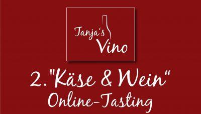 Aufmacher zum 2. Käse und Wein-Online-Tasting
