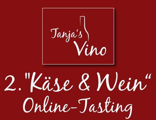 """2. """"Käse & Wein""""-Online-Tasting"""
